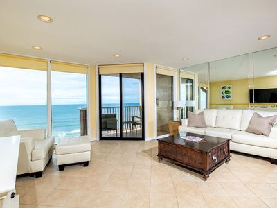 Photo for Dreams R Made Of Sand & Sun! 1 BR Oceanfront condo at Del Mar Shores Terrace