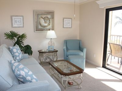 Photo for Ocean's Reach - Unit 3X3 - Directly Beachfront!