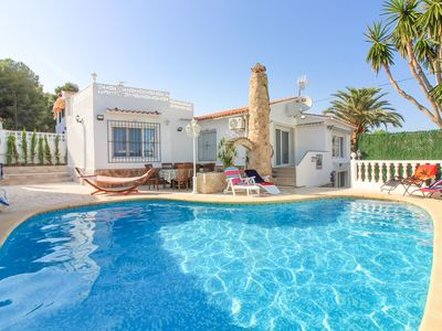 Photo for Villa with private pool in Calpe - Comet II 3901