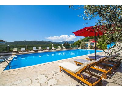 Photo for Villa Krnic with Olimpic Pool, Jacuzzi, Multimedia... to enjoy nature