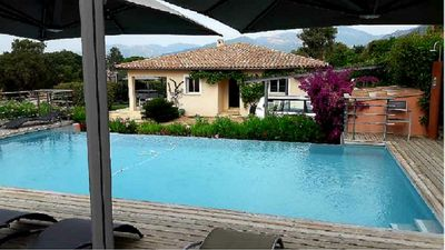 Photo for villa of 2009 of 164 m² with pool and jacuzzi