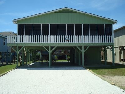 Photo for Shell House  - Less than a block to beach access and newly updated!