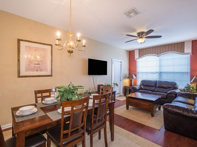 Photo for Beautiful Windsor Hills Condo! 3 bedroom (2 kings). As close to Disney as you ca