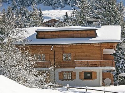 Photo for Apartment Albatros 5  in Villars, Alpes Vaudoises - 3 persons, 1 bedroom