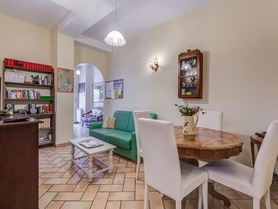 Photo for Casaglorioso Trastevere at Quiet Apartment in the Heart of Rome