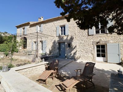 Photo for Beautiful farmhouse renovated with a beautiful view of the Alpilles