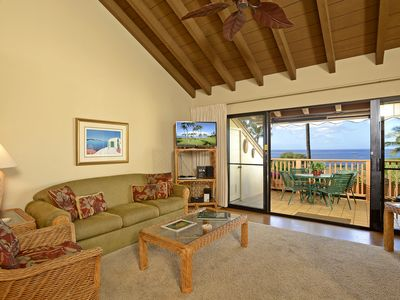 Photo for MKH206  Maui Kamaole 2 Bedroom Front Row, Ocean View Premium
