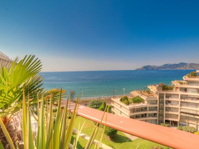 Photo for IMMOGROOM - Panoramic sea view - Terrace - 1 min from the beach