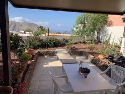 Photo for An idyllic oasis in South Tenerife between mountains & sea -