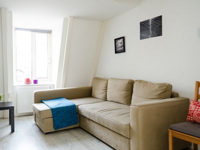 "Photo for This sweet 2 bedroom apartment is located in the popular ""Leidseplein"" area"