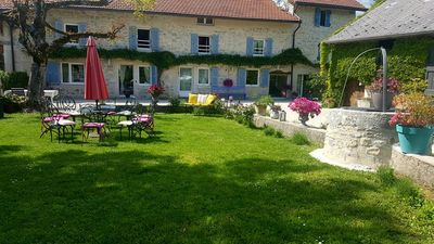 Photo for Beautiful and comfortable house bugiste, in a case of nature, in CEYZERIEU ....