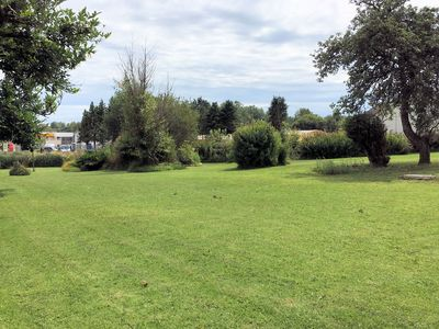 Photo for Spacious 3 bedroom house with large lawn.