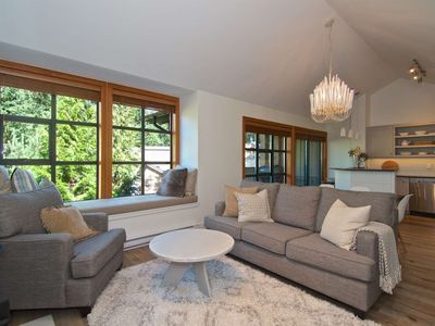 Photo for Professionally managed/cleaned by iTrip Whistler: Renovated,  spacious town- home in Upper Village