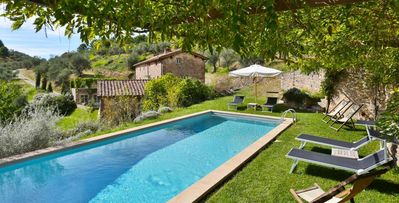 Photo for Chiodo- 5 bd traditional Italian villa with four levels and pool near Pisa