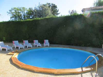 Photo for Luxury 140 m² house, 2000 m² garden, terrace and pool. Please visit our website.