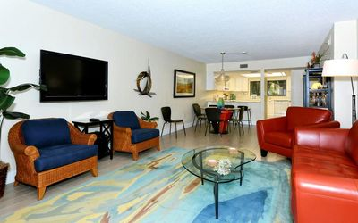 Photo for Chinaberry 913 - 2 Bedroom Condo with Private Beach with lounge chairs & umbrella provided, 2 Pools, Fitness Center and Tennis Courts.