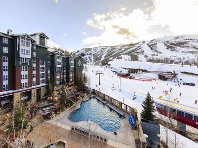 Photo for 5* Ski-in/ski-out Park City Resort - Hot Tubs, Heated Pool