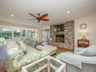 Photo for Spacious and Open 4 Bedroom, 3 Bathroom Sea Pines Vacation Home