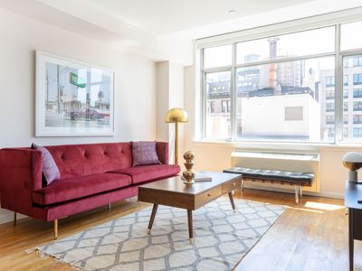 Photo for Grand 1BR in Chelsea by Sonder