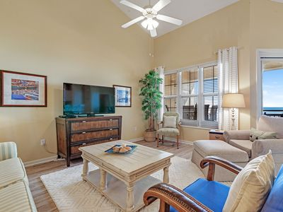 Photo for 302W ~ Vibrant 2BR/2BA top floor beachfront condo