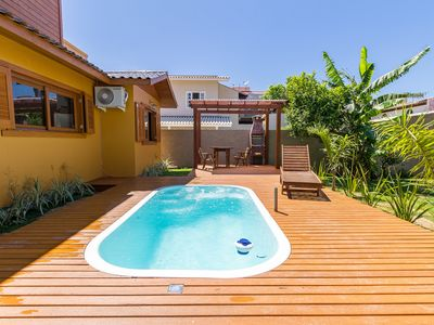 Photo for NEW HOUSE 100 METERS FROM THE BEACH OF THE CAMPECHE - 3 BEDROOMS AND SOBRADO
