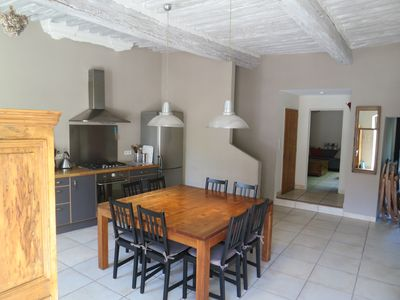 Photo for Charming village house with courtyard in the old center, near Lubéron.