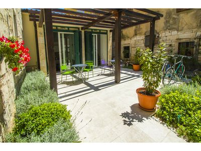 Photo for Apartment in the heart of the Split Old Town with garden &terrace&bikes 2