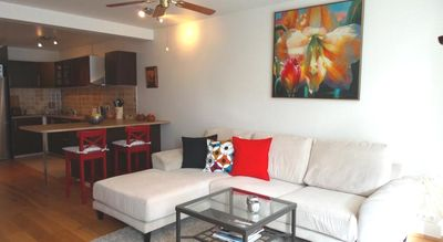 Photo for Downtown spacious 3 bedroom apartment for 6 guests