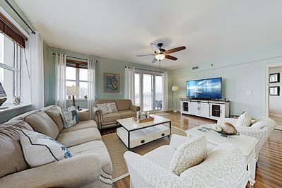 Living Area - Welcome to Miramar Beach! This condo is professionally managed by TurnKey Vacation Rentals.