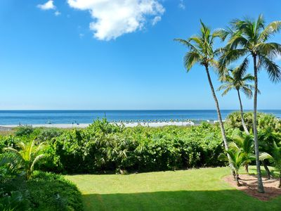 Photo for Newly-remodeled beachfront condo w/ hot tub, heated pool & tennis courts