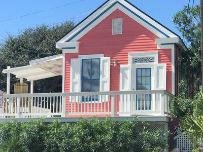 Photo for Delightful 2BR Cottage w/ Spacious Deck – Walk 2 Blocks to the Beach