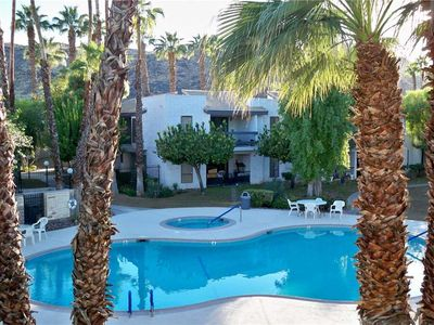 Photo for Palm Canyon Villas Condo w/ Great Pool & Mountain Views in South PS!