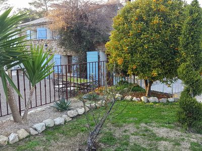 Photo for Characteristic Mas with private pool and beautiful garden, 5 km from the Sea