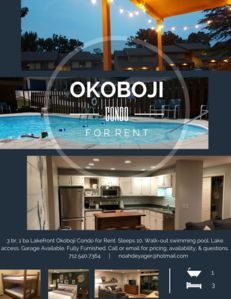 Photo for East Lake Okoboji Poolside Condo at Terrace Oaks