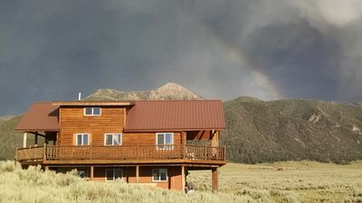 Photo for Log cabin 30 minutes from West Yellowstone - 3BD, 2.5BA, Sleeps 8