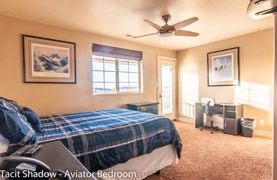 """Photo for Tacit Shadow """"Aviator"""", Private Bedroom at base of Brian Head Mountain, WiFi"""