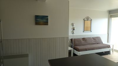 Photo for Apartment T2 (ranked 3 *), waterfront, sea view, Port-La-Nouvelle (Aude)