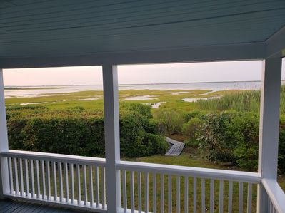 View from Porch...This is what this cottage is all  about....