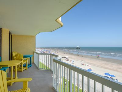 Photo for COV 320- Oceanfront Condo - 2 Pools