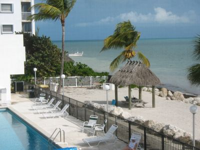 Photo for Marathon Florida Keys 1 Bdr Ocean View Beach & Big Pool