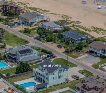 Semi-oceanfront. Just steps to the beach!