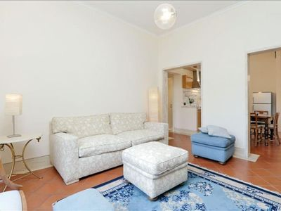 Photo for Spacious Piave di Roma apartment in Via Veneto with WiFi & lift.