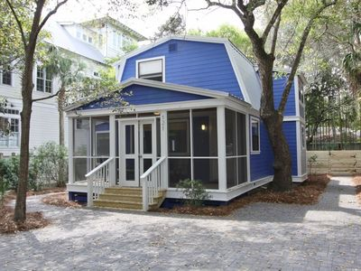 Photo for Canopy Cottage, Old Seagrove-4BR/2BA near Seaside, Private Heated Pool, Family friendly