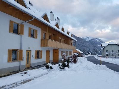 Photo for Luxury Apt with balcony and sauna near ski slopes and biking/hiking trails