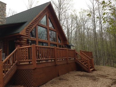 Photo for The Log Home at Fish Creek-In the Heart of Door County