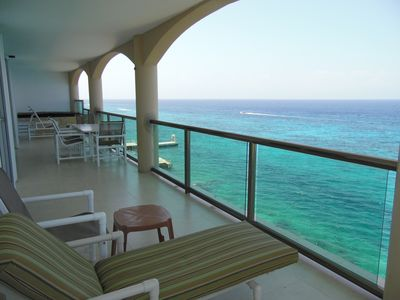 Photo for El Cantil VISTA BONITA - Oceanfront 4 Bedrooms - Awesome Beach and Sunset Views