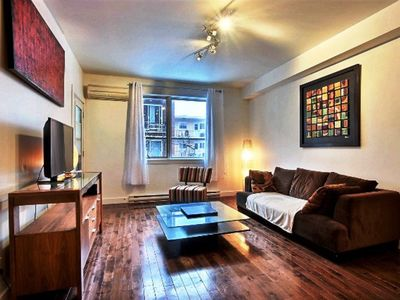 Photo for #185 Beautifully Furnished APT in Plateau Mont-Royal