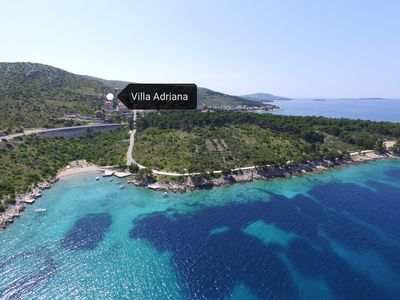 Photo for Villa Adriana offers you a relaxing accommodation experience with nice sea view