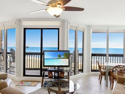 Photo for Sandpiper  #503: Beachfront 2 Bedroom 2 Bathroom With Spectacular Views and 24 Hour Management