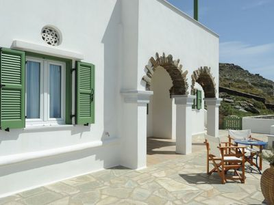 Photo for Apartment Ormos Apartment III in Tinos - 4 persons, 2 bedrooms